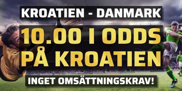 Kroatien Danmark odds