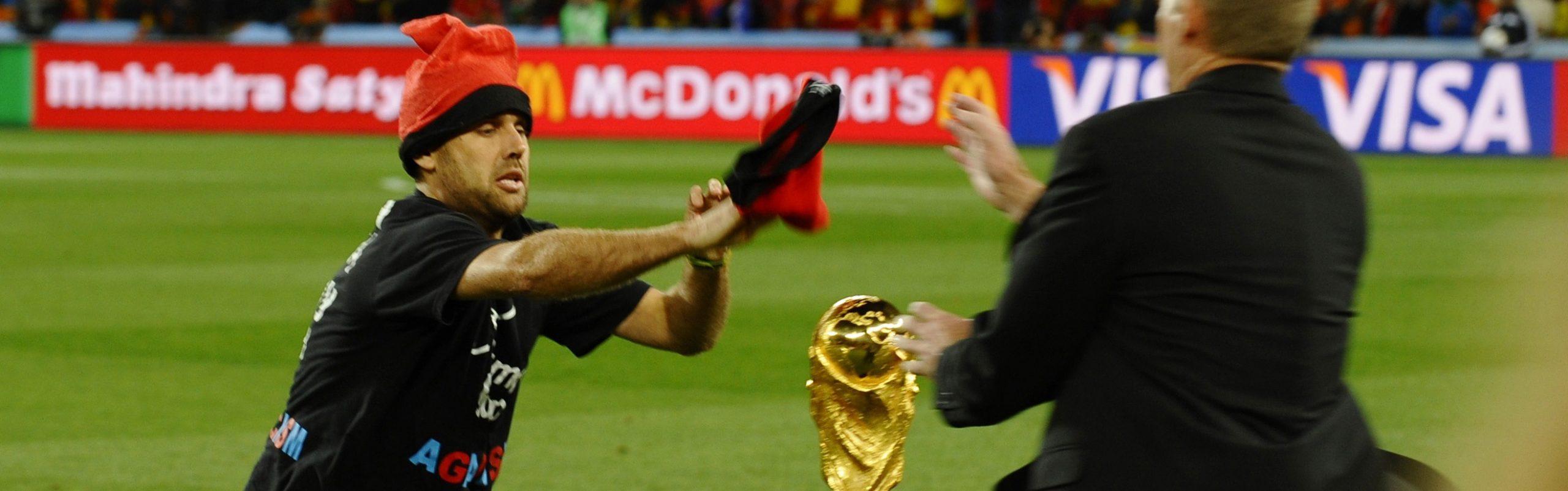 Jimmy Jump under fotbolls VM 2010