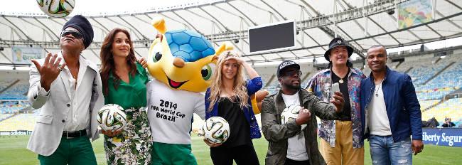 Artister i samband med fotbolls VM 2014