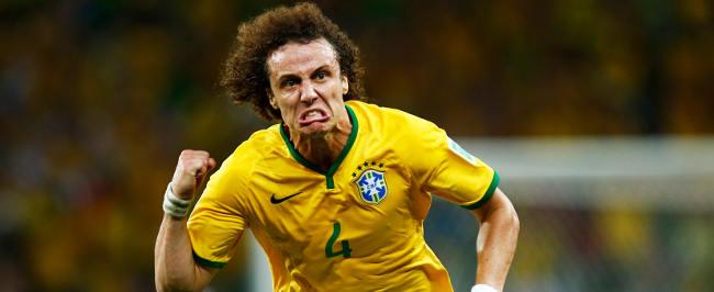 David Luiz, Brasilien