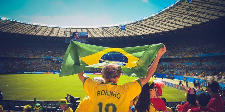 Brasiliansk supporter