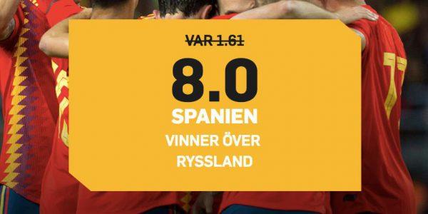 Spanien Ryssland Odds