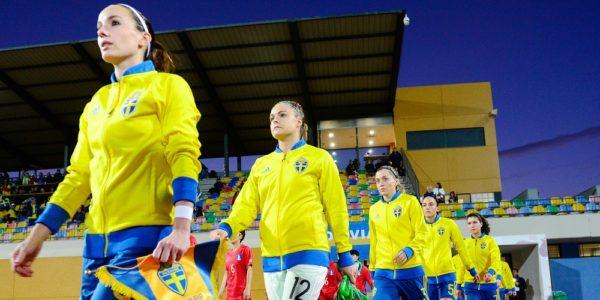 Svenska damlandslaget Algarve Cup 2018