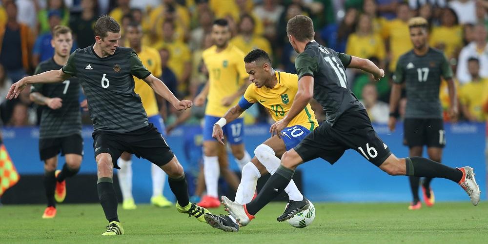 Brasilien-Tyskland OS 2016