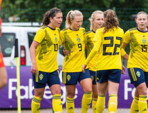 Svenska U23-truppen till damturnering i England