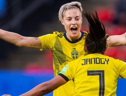 Hurtig målskytt när Sverige höll på att spräcka USA:s monstersvit
