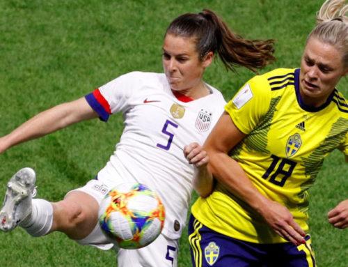 Träningslandskamp Sverige-USA