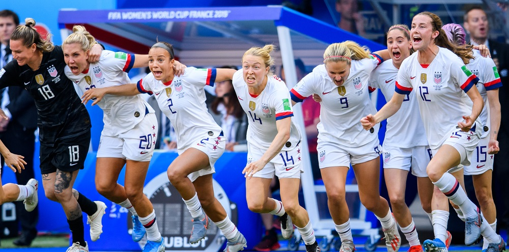 USA:s damlandslag i fotboll