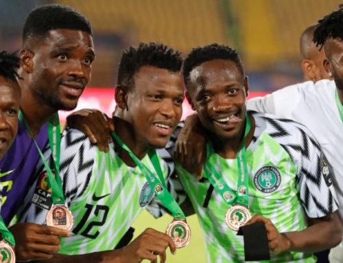 Nigeria bronsmedaljörer i Afrikanska Mästerskapet