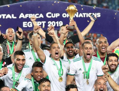 Algeriet afrikanska mästare 2019