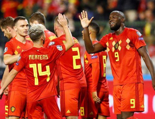 Belgien fortsatta världsettor