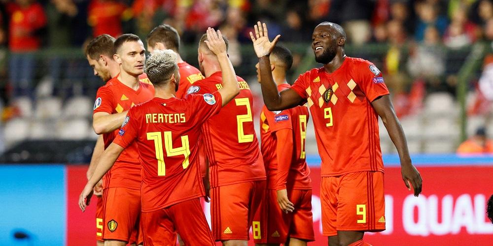 Belgiens herrlandslag i fotboll