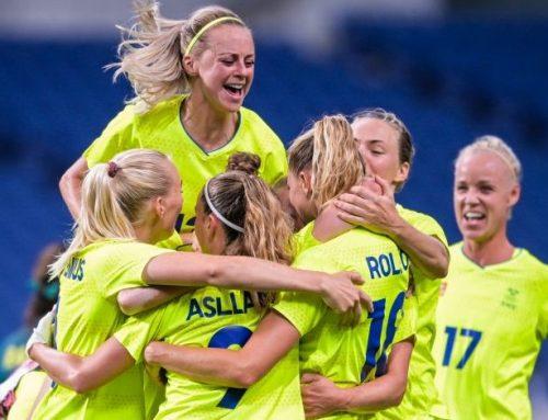 Sverige klart för kvartsfinal efter målrik match