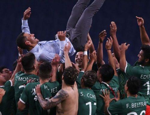 Mexiko vinner bronsmedaljen i herrarnas OS-turnering