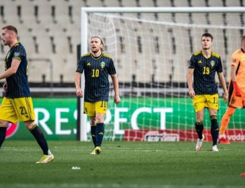 Tung förlust för Sverige i Aten