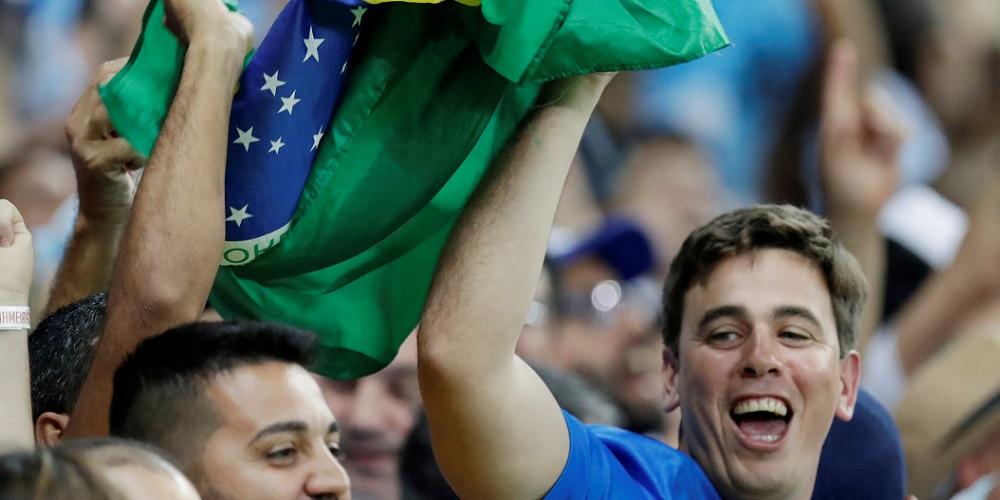 Brasilianska supportrar
