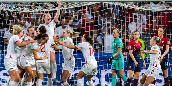 Englands damlandslag i vm 2019