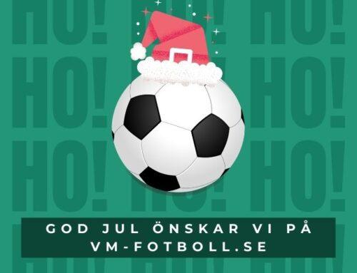 God Jul önskar vi på VM-fotboll.se