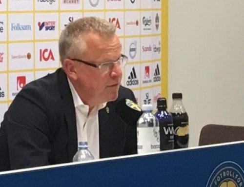Sveriges trupp till VM-kvalet mot Grekland och Kosovo