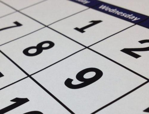 Viktiga datum att hålla koll på 2020