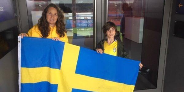Lotta Nyström, volontär under fotbolls VM 2019