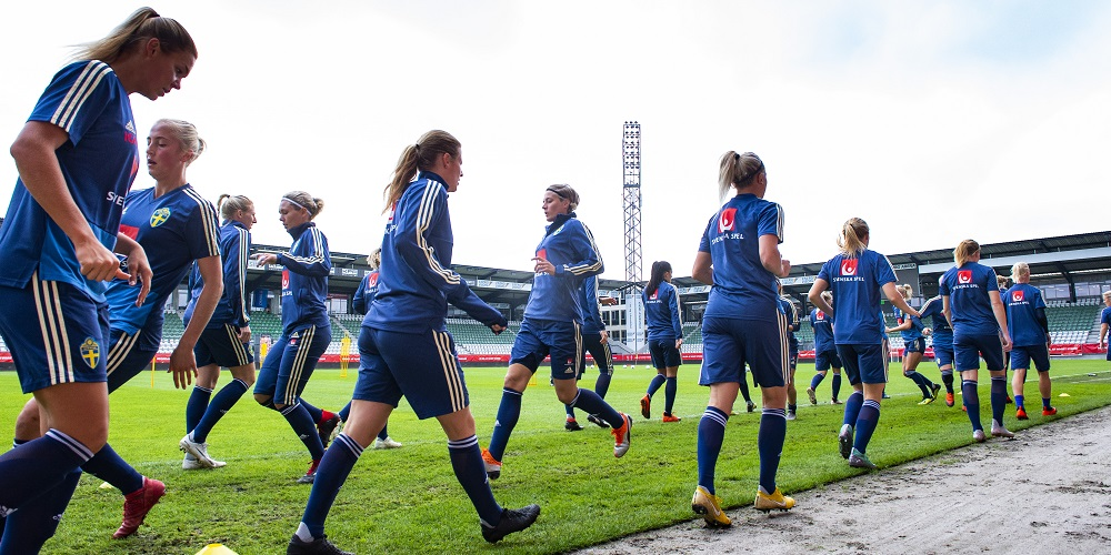 Damerna på plats i Sydafrika - Fotbolls-VM 2019 i Frankrike 22cd258b35525