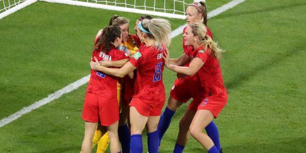 USA vinner semifinalen mot England i vm 2019