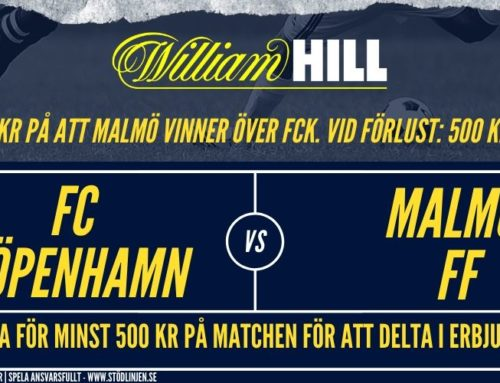 EL 12/12: FC Köpenhamn – Malmö | Spela att Malmö vinner, vid förlust får du pengarna tillbaka