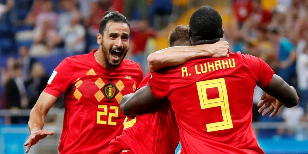 Toppmöte mellan Brasilien och Belgien - Fotbolls-VM 2019 i Frankrike bfdb245d08ff6