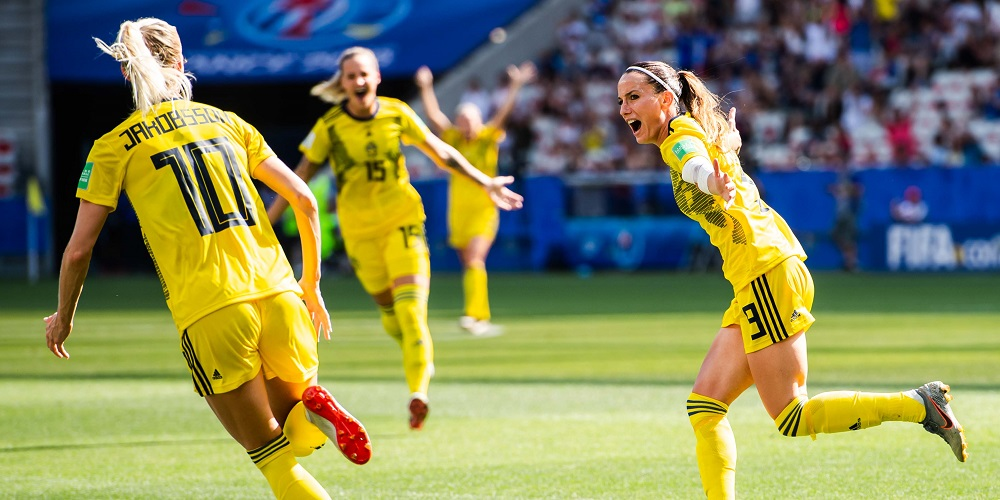 Svensk jubel vinner brons