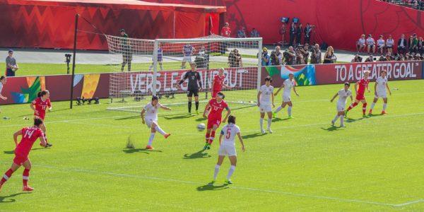 fotbolls VM damer 2015 Kanada Kina