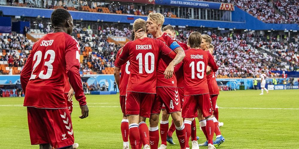Kan Danmark ta ett kliv närmare slutspelet  Hem Fotbolls-VM 2018 Kan  Danmark ta ett kliv närmare slutspelet  4db30b44aec12