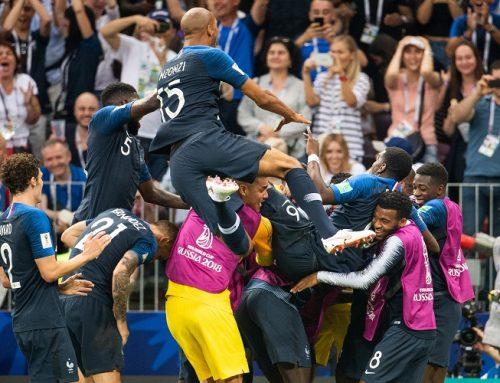 Grattis till guldet Frankrike!
