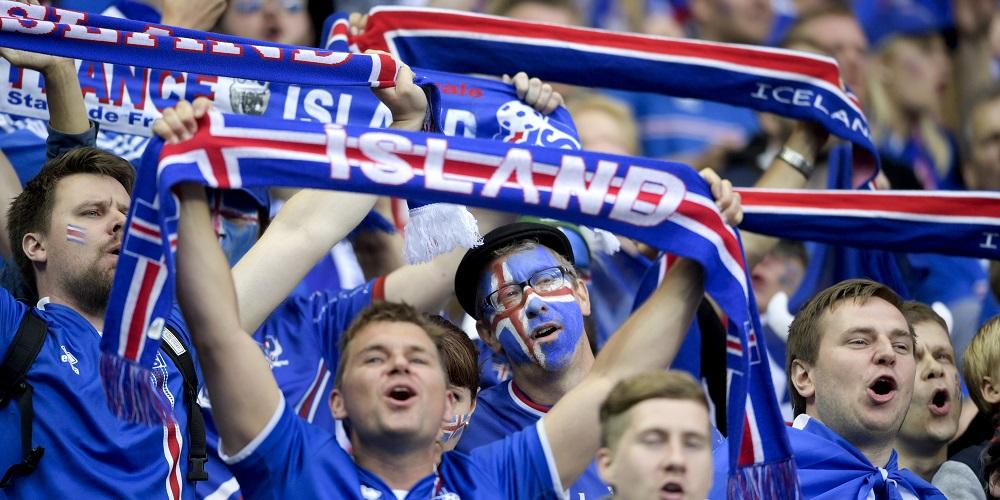 Islands forsta forlust i vm kvalet