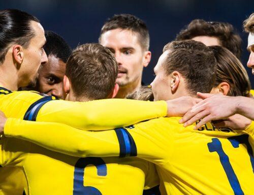 Lagbygget Sverige med säker seger