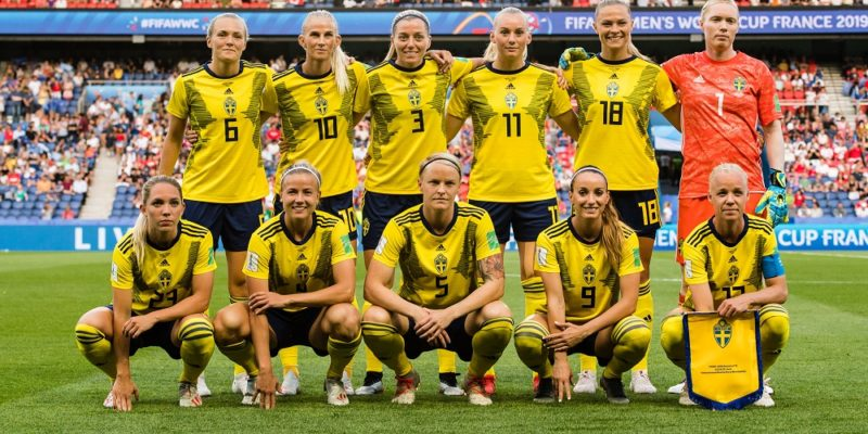 Startelvan i kvartsfinalen mot Tyskland