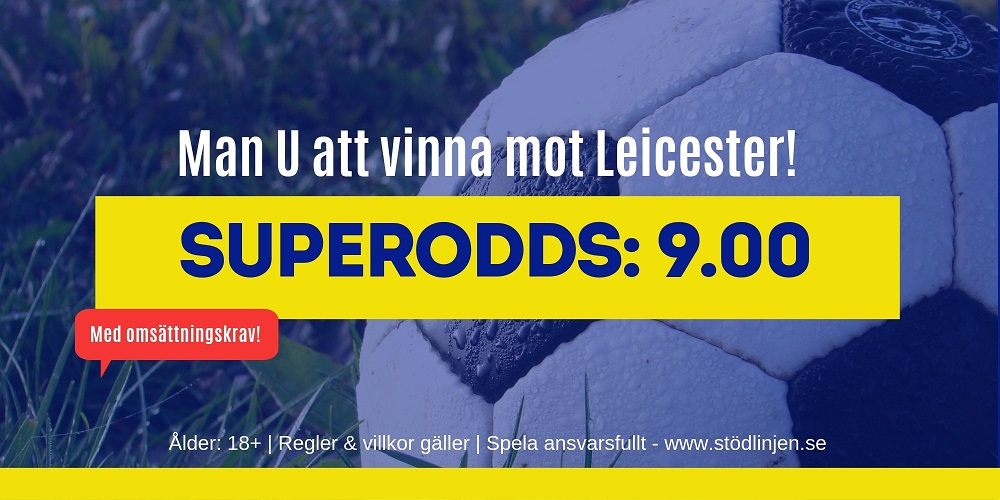 Superodds Manchester United Leicester