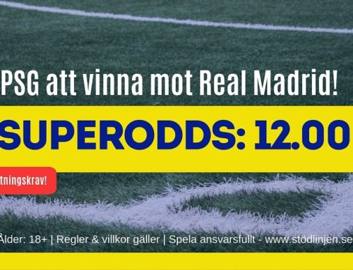 Boostade odds (18/9) | CL – PSG vs Real Madrid
