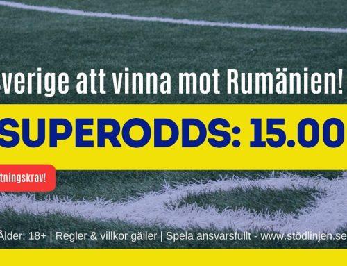 Superodds (15/11) | EM-kval: Rumänien – Sverige