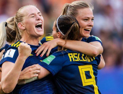 Långa bollar knäckte Tyskland. Nu väntar semifinal för Sverige!