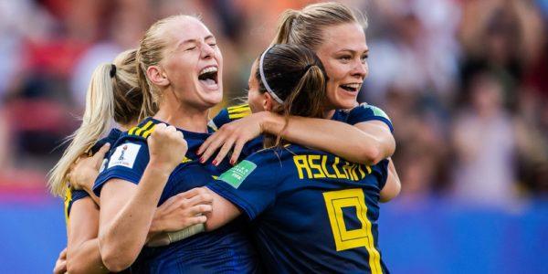 Seger mot Tyskland i kvartsfinal dam-vm