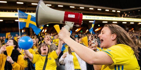 svenska fans damlandslaget