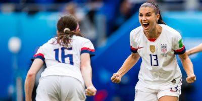 VM 2019 final USA firar mål