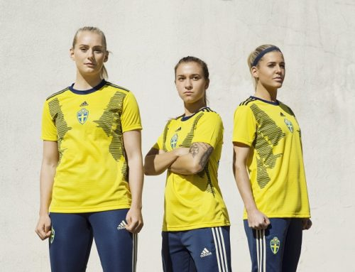 Damernas nya VM-tröja presenterad
